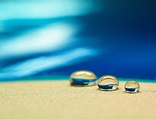 Гидрофобный песок — что это?