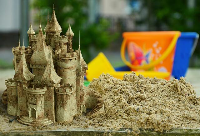 Кінетичний пісок. Як приготувати кінетичнийй пісок вдома?
