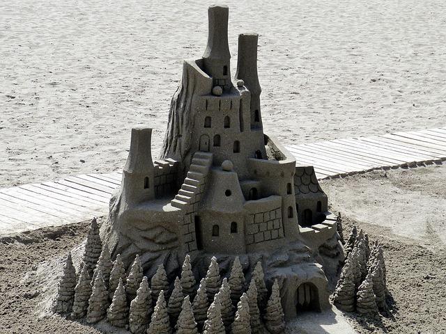 пісок для фундаменту. 3 основні способи вибору